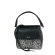 Kare női táska Fekete krokodil mintás1.jpg